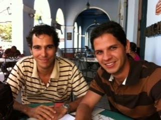 Roberto Gonzalez Peralo y Harold Cardenas Lema