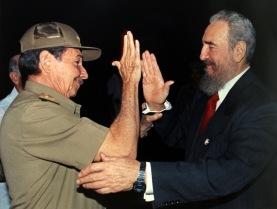 Fidel Castro y Raul Castro