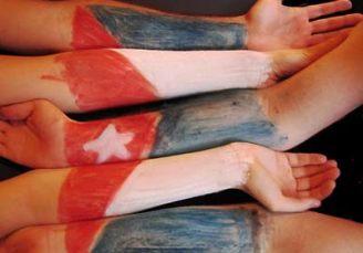bandera cubana manos/supercuba